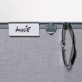 Nameplate holder - Local storage (Accessori)