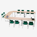 Fellow II - Pupil desks (Education furniture)