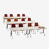 Foldex - Pupil desks (Education furniture)