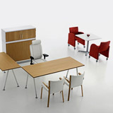 Series[A] - Work tables (Office furniture)