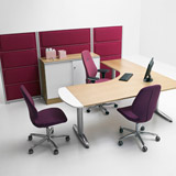 Series[T] - Work tables (Office furniture)