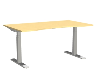 Series[P] - Desks (Office furniture)