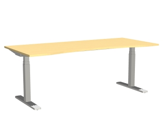 Series[P] - Skrivebord / hydejusterbart skrivebord (Kontormbler)